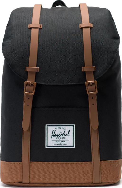 HERSCHEL Retreat Black/Saddle Brown One size