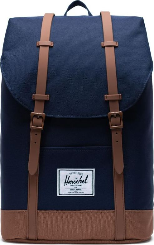 HERSCHEL Retreat Peacoat/Saddle Brown One size