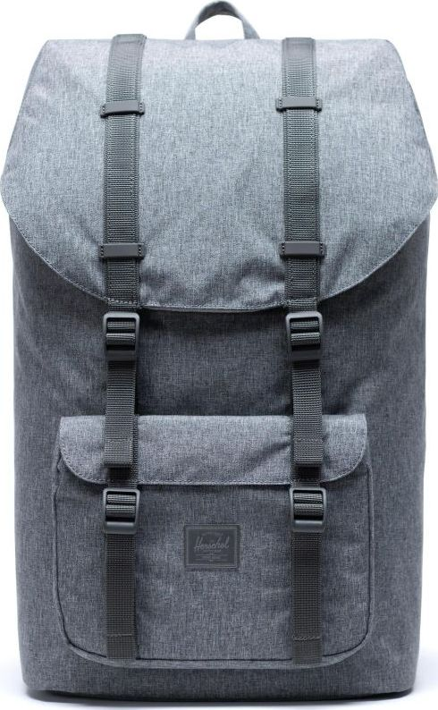 Herschel Little America Light Raven Crosshatch One size