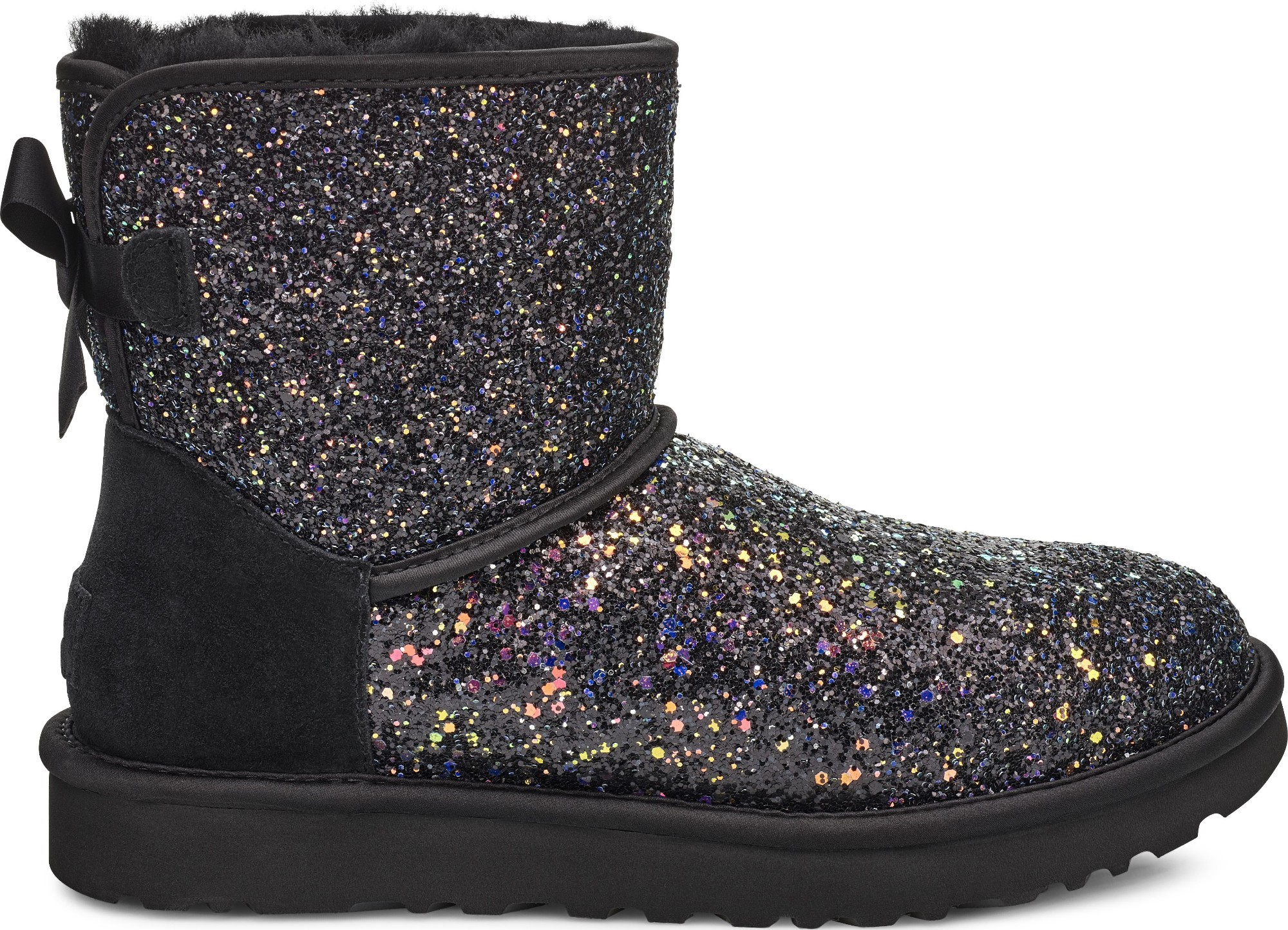 UGG Classic Mini Bow Cosmos Black 37