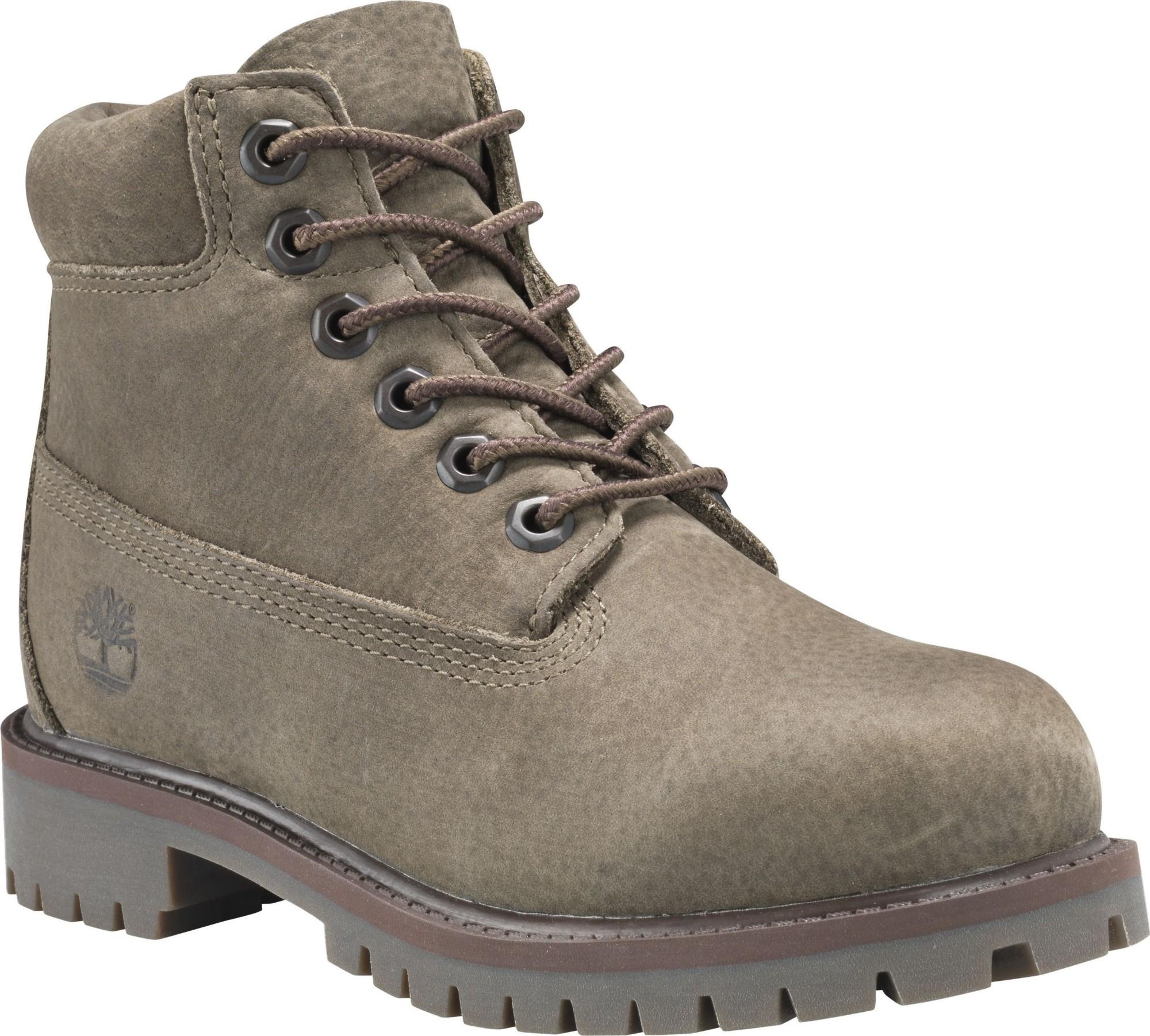 Timberland 6 In Premium Boot Junior's Olive 36