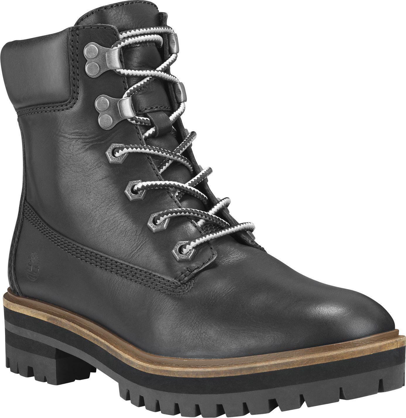 Timberland London Square 6 IN Boot Black Full-Grain 38