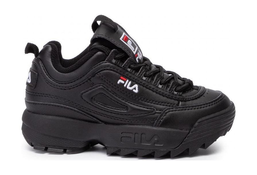 FILA Disruptor Kids Black/Black 33
