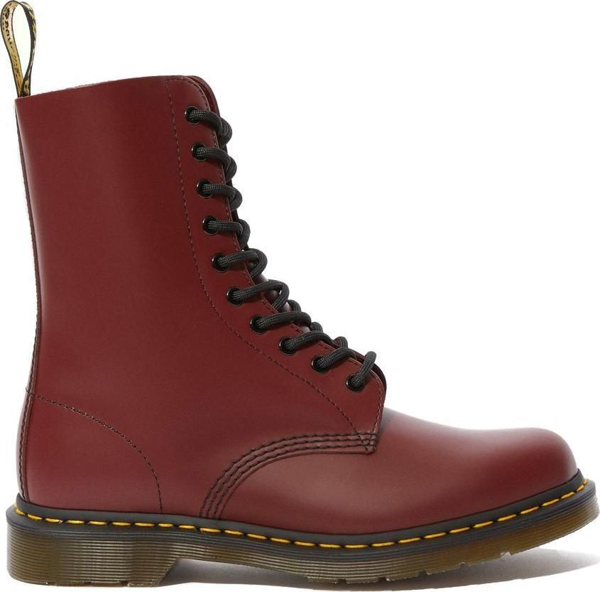 Dr. MARTENS 1490 Smooth Cherry Red 39