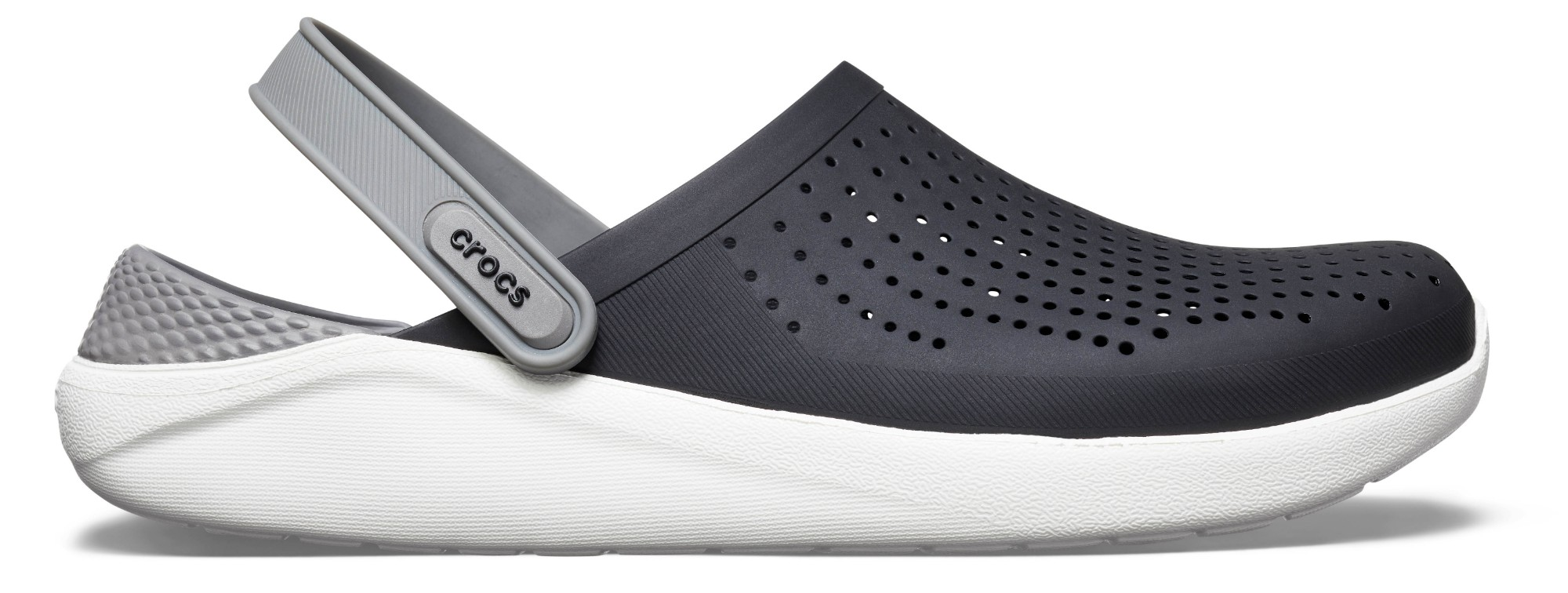 Crocs™ LiteRide Clog Black/Smoke 36,5