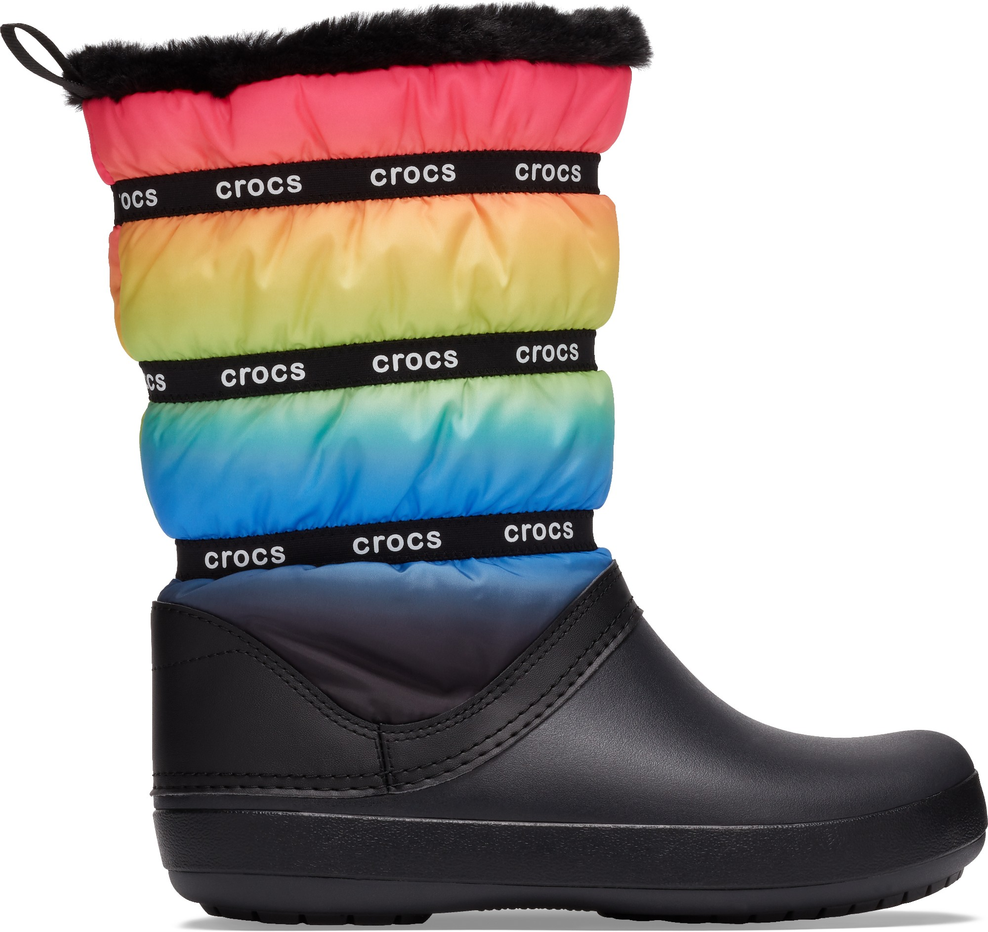 Crocs™ Crocband Neo Puff Winter Boot Women's Neon Ombre/Black 41