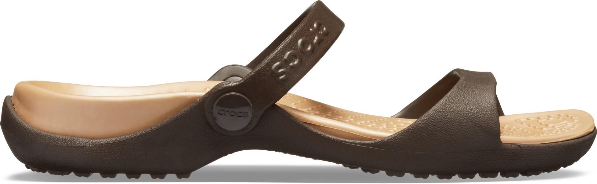 Crocs™ Cleo Espresso/Gold 41
