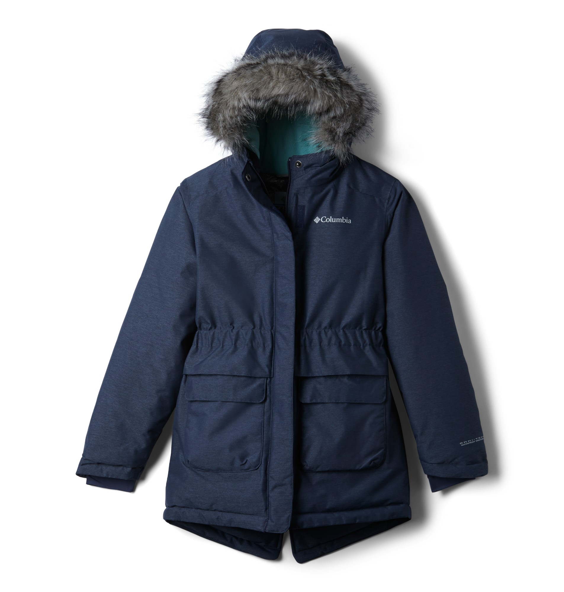 Columbia Nordic Strider Jacket Girls Nocturnal Heather 140