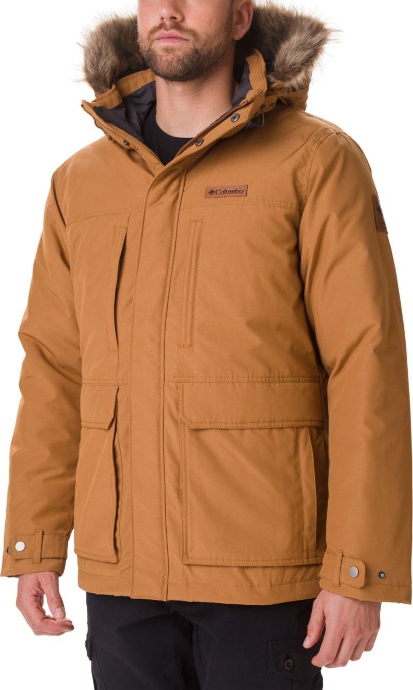 Columbia Marquam Peak Jacket Camel Brown L