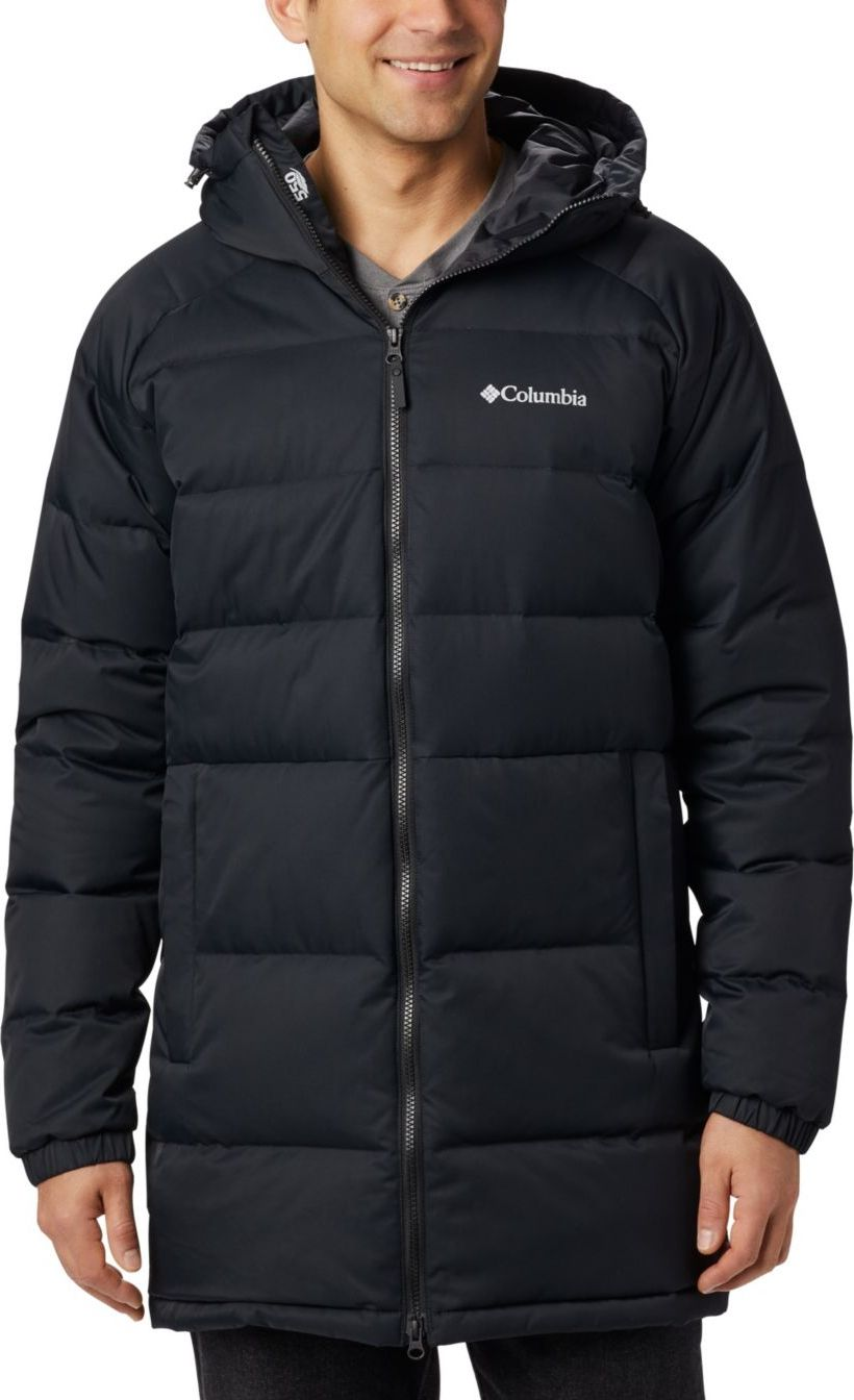 Columbia Macleay Down Long Jacket Black L