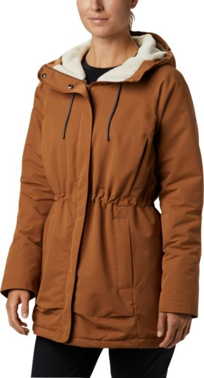 Columbia South Canyon Sherpa Lined Jacket Camel Brown M