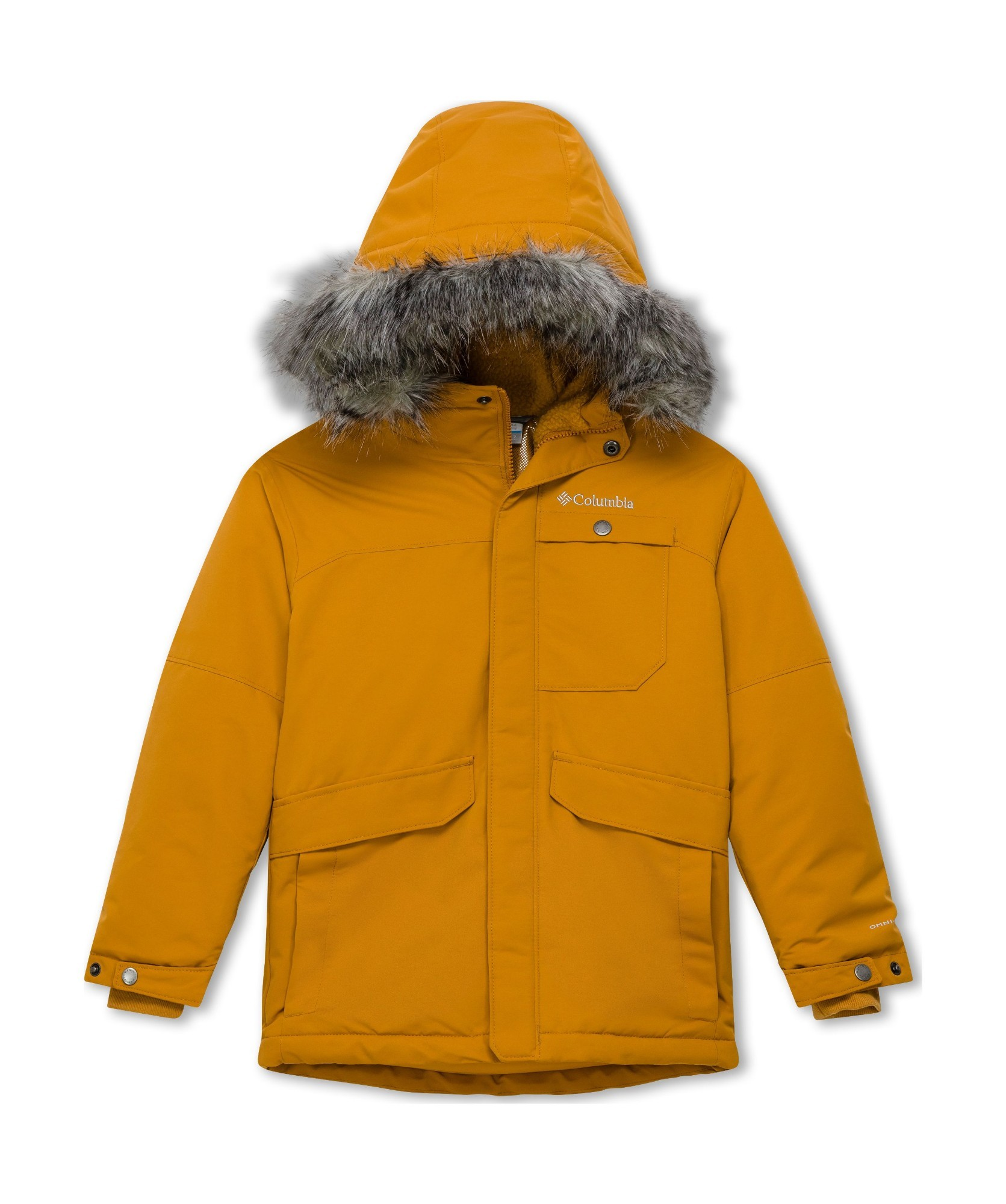 Columbia Nordic Strider Jacket Boys Canyon Gold M