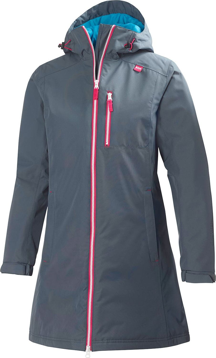 HELLY HANSEN Long Belfast Winter Jacket Women's Charcoal S