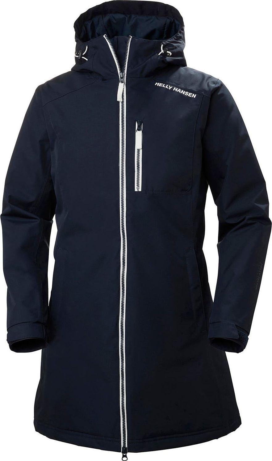HELLY HANSEN Long Belfast Winter Jacket Women's Navy L