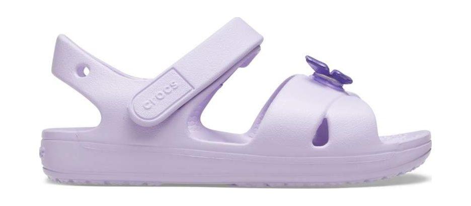 Crocs™ Classic Cross Strap Sandal PS Lavender 25
