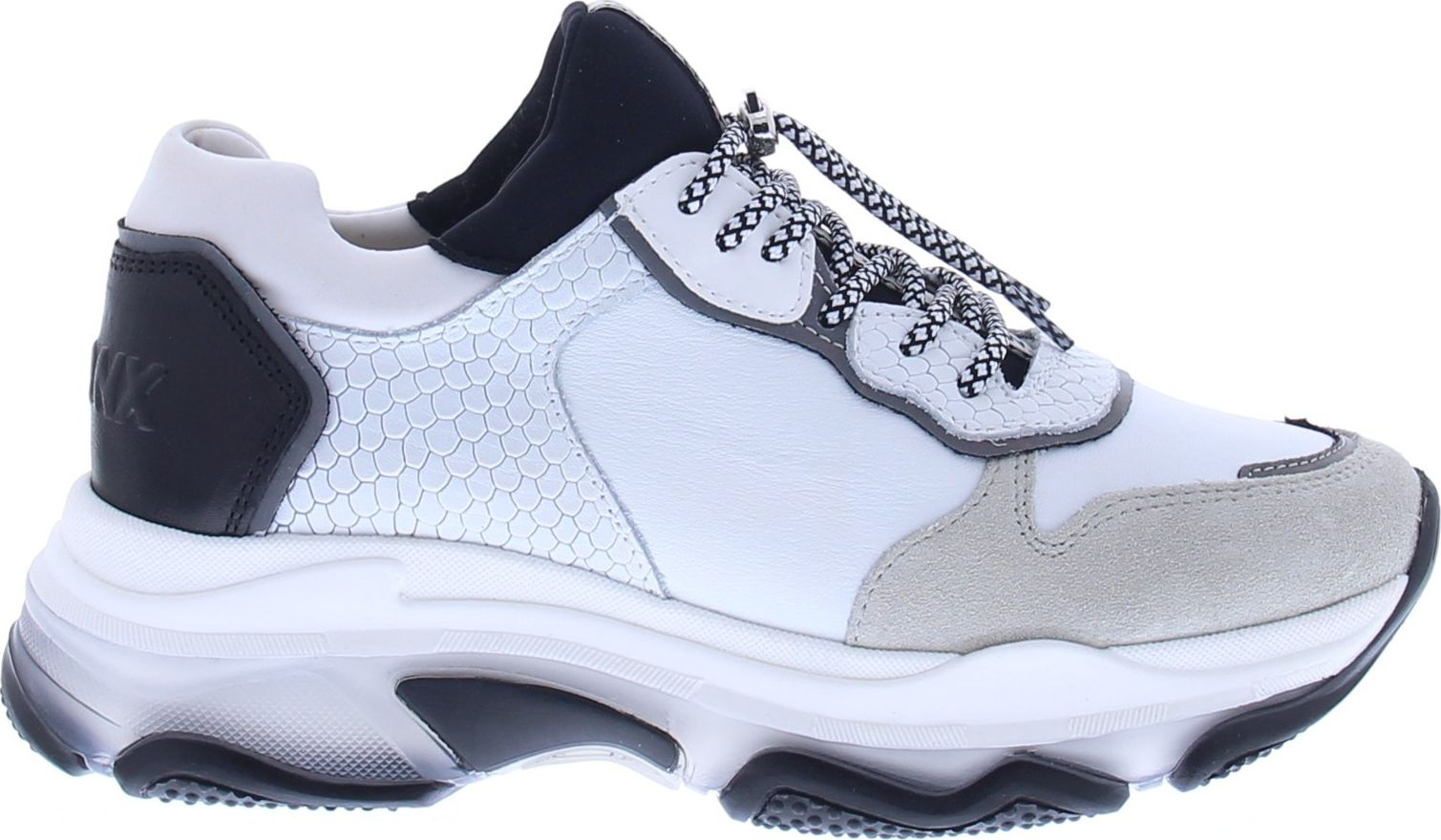 BRONX 1525 Baisley Light Grey/White/Black 40