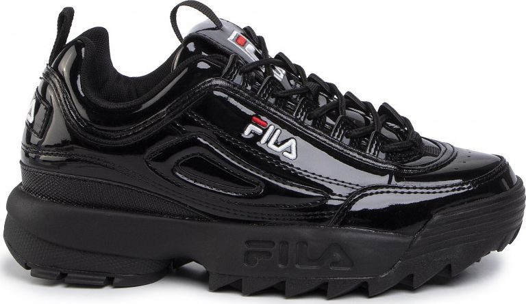 FILA Disruptor Patent Low Black/Black 39