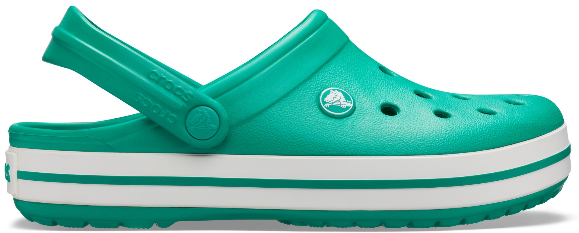 Crocs™ Crocband™ Deep Green/White 37,5