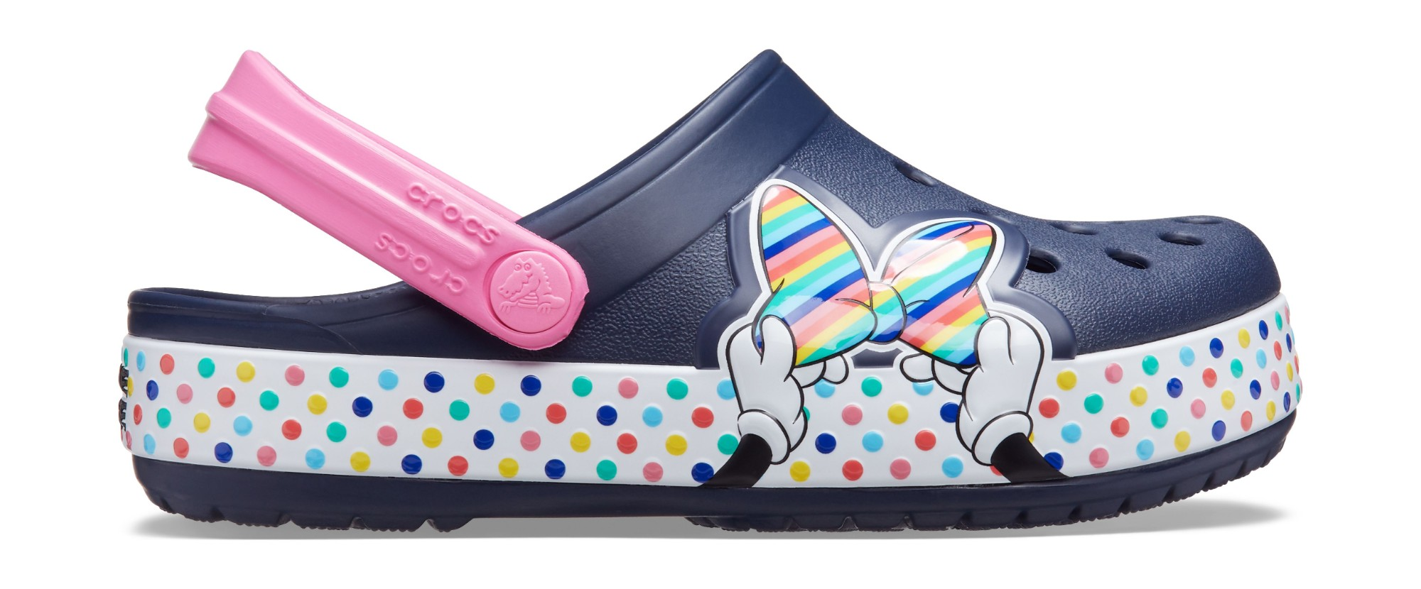 Crocs™ Funlab Disney Minnie Mouse Style Clog Kids Navy 27