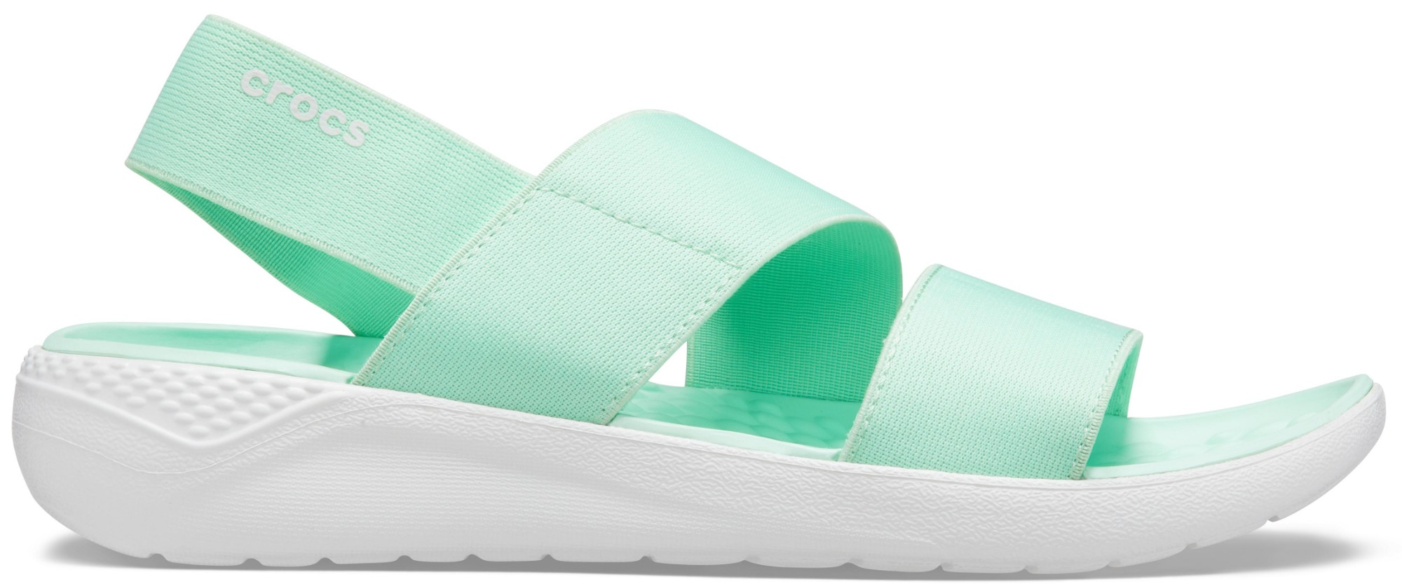 Crocs™ Literide Stretch Sandal Womens Neo Mint/Almost White 42,5