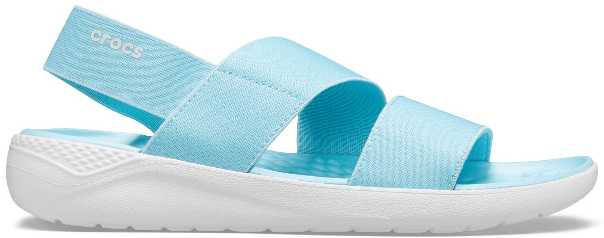 Crocs™ Literide Stretch Sandal Womens Ice Blue/Almost White 37,5