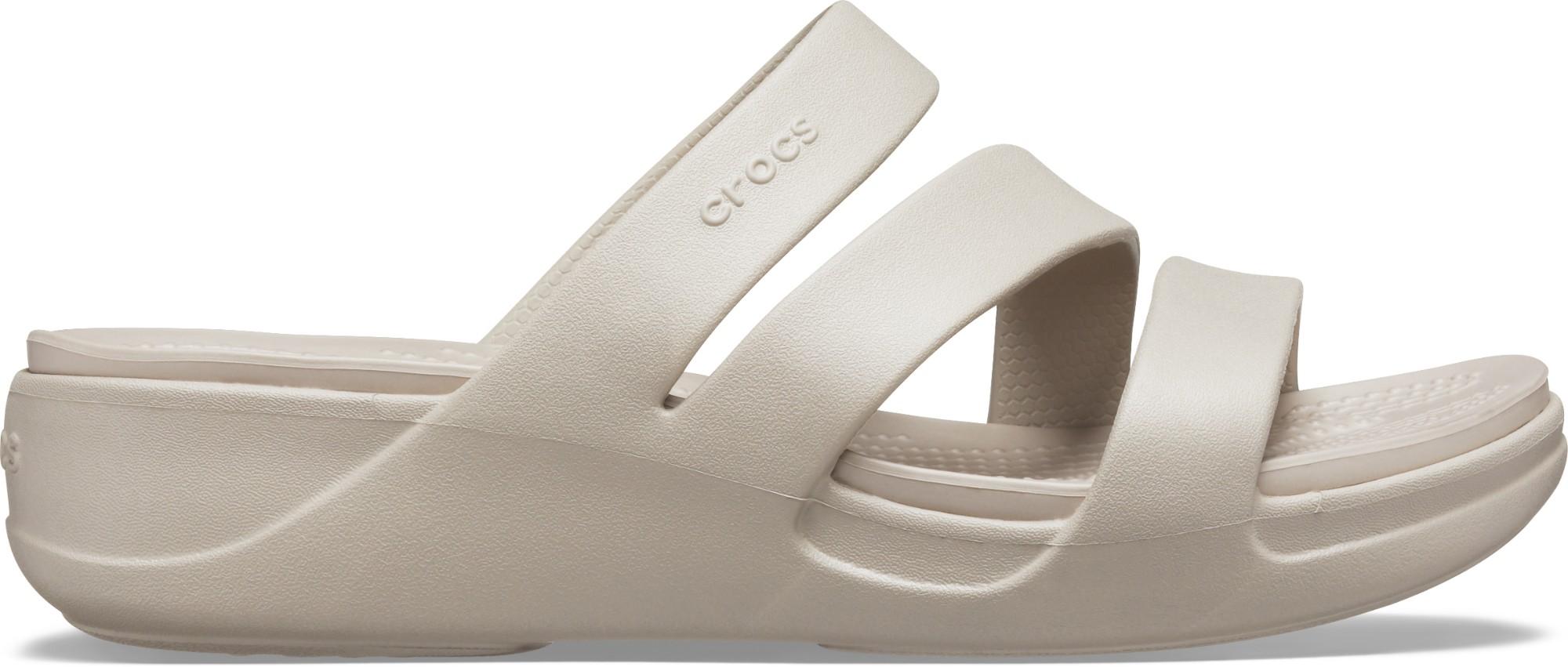 Crocs™ Monterey Wedge Womens Platinum 37,5