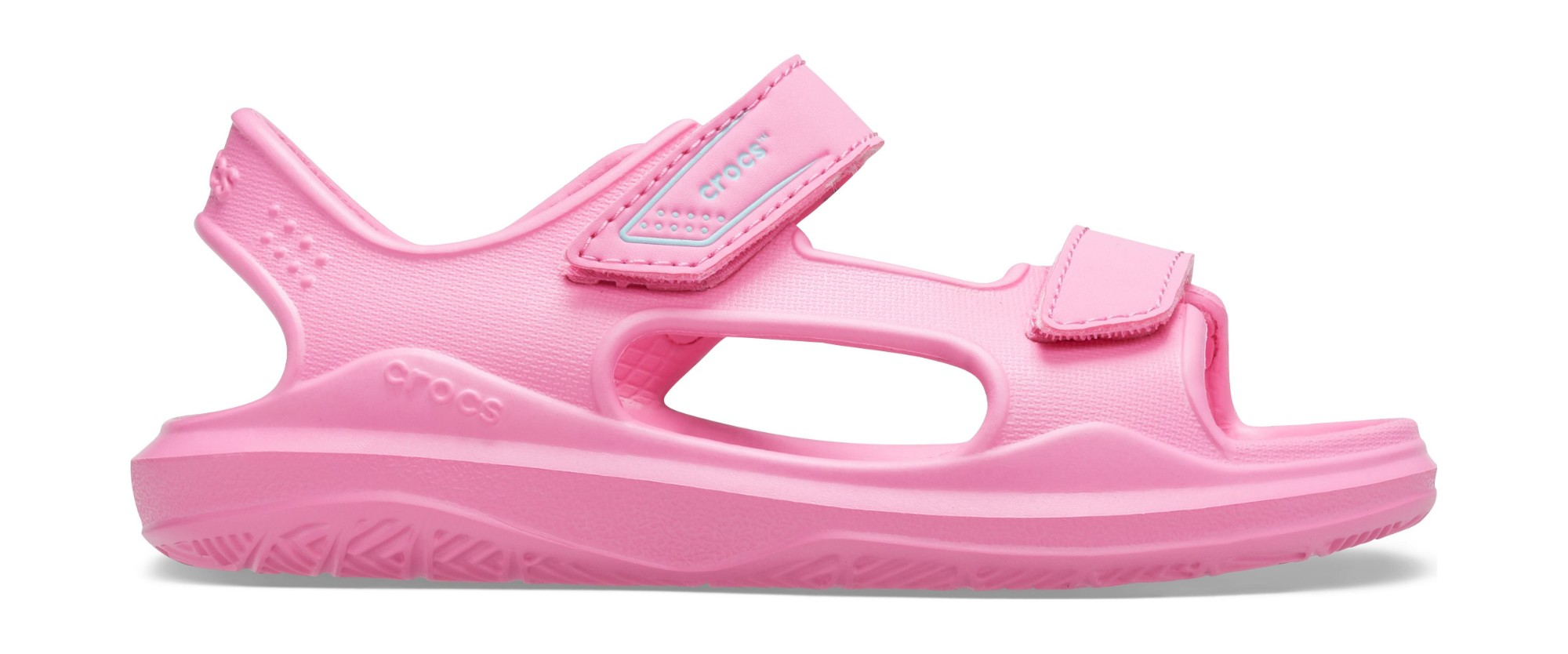 Crocs™ Swiftwater Expedition Sandal Kids Pink Lemonade/Pink Lemonade 32