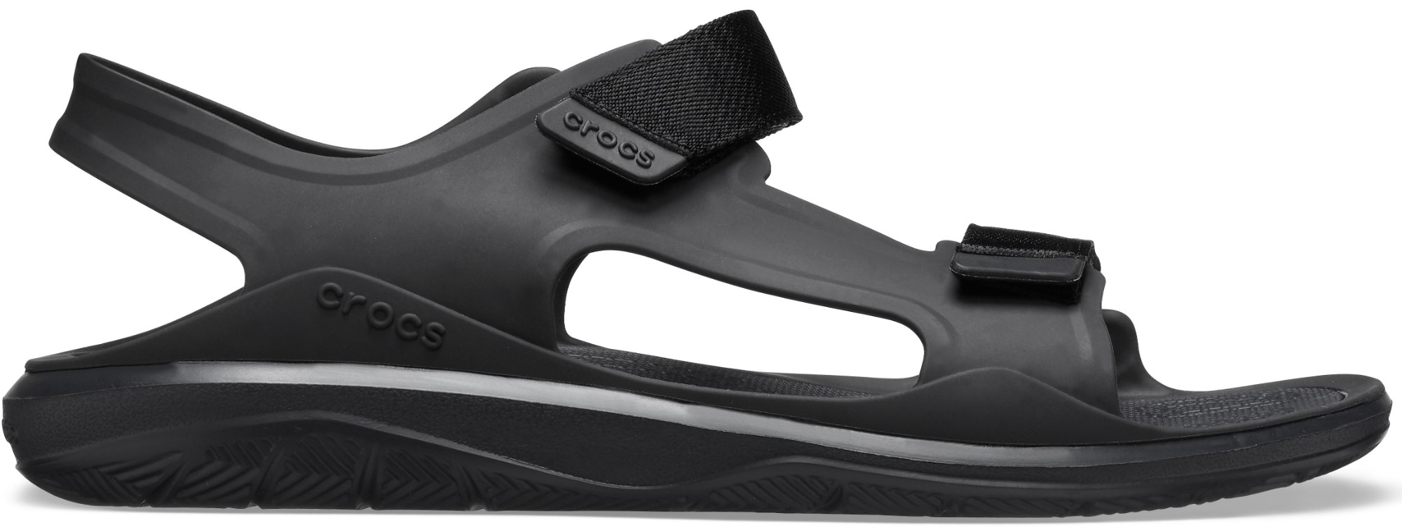 Crocs™ Swiftwater Molded Expedition Sandal Black/Black 45,5