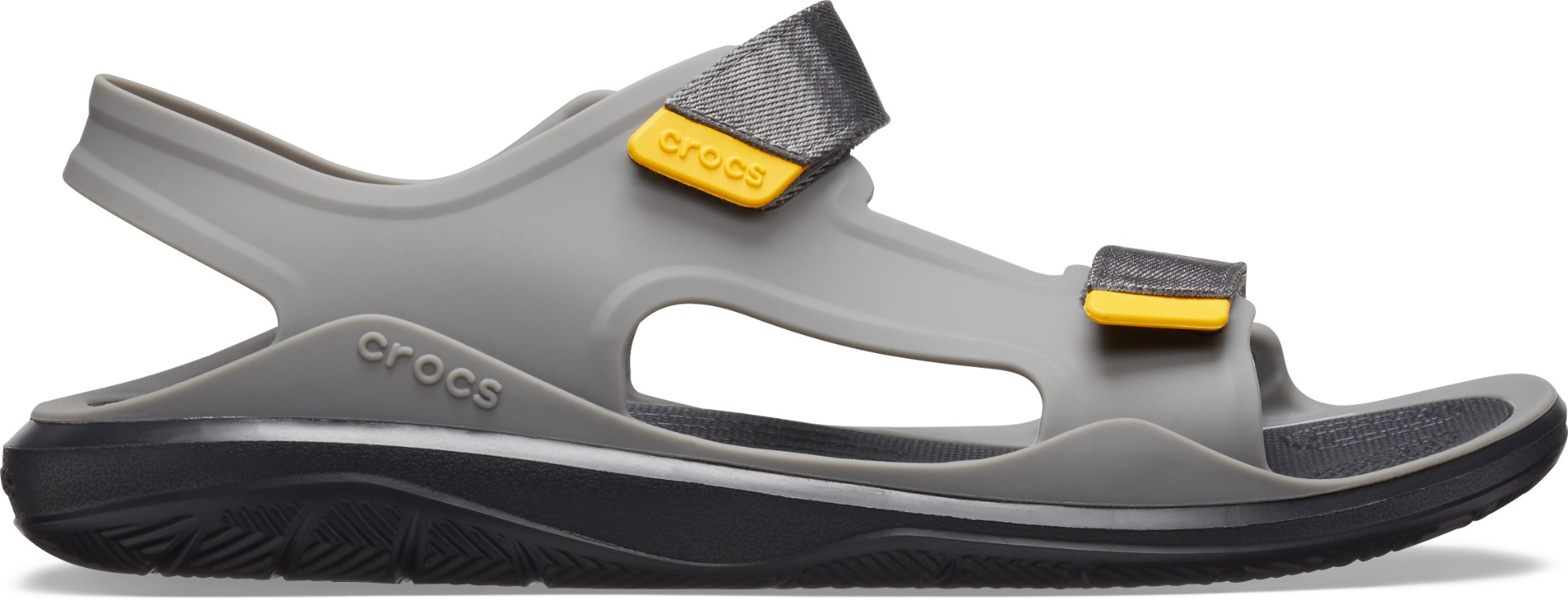 Crocs™ Swiftwater Molded Expedition Sandal Slate Grey/Black 43,5