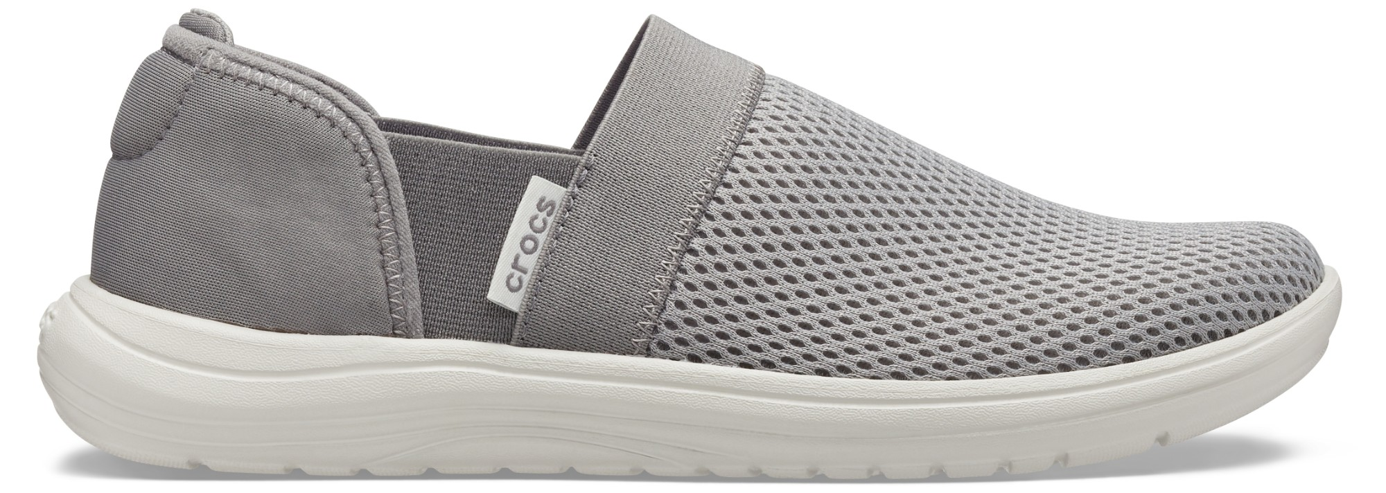 Crocs™ Reviva Mesh Slip-On Women's Smoke/Pearl White 41