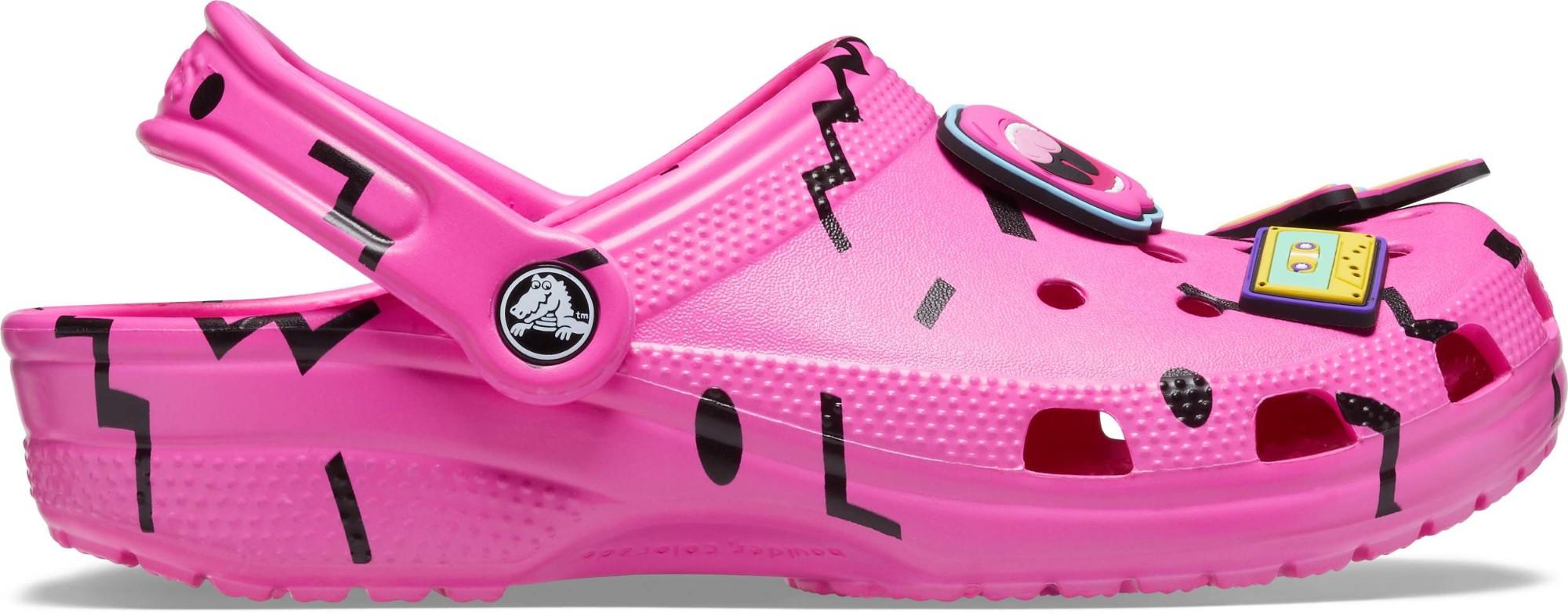 Crocs™ Classic 90s Clog Electric Pink/Black 39,5