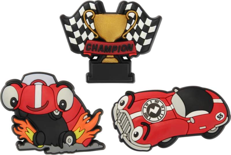Crocs™ Crocs ZAP RACE CAR 3PC PK F14 – CARD G0618700-MU