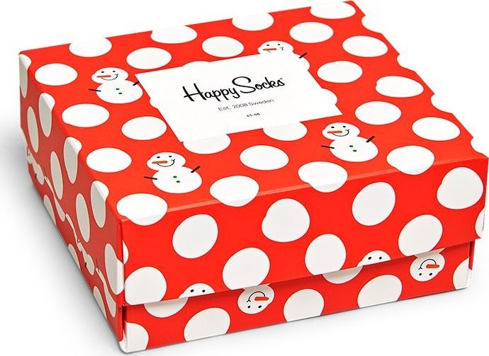 Happy Socks Christmas Gift Box Multi 4300 36-40
