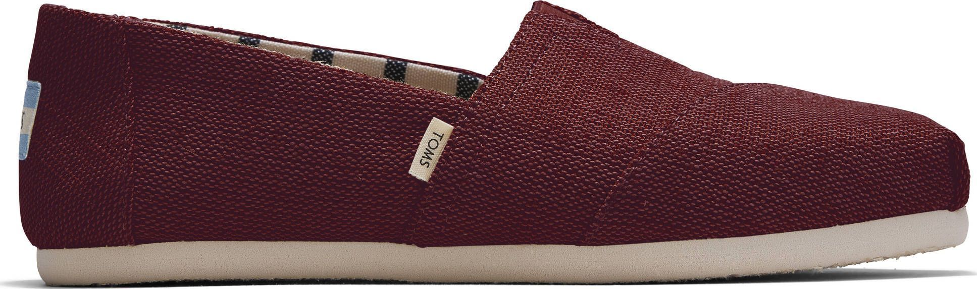 TOMS Heritage Canvas Women's Alpargata Black Cherry 10015766 39