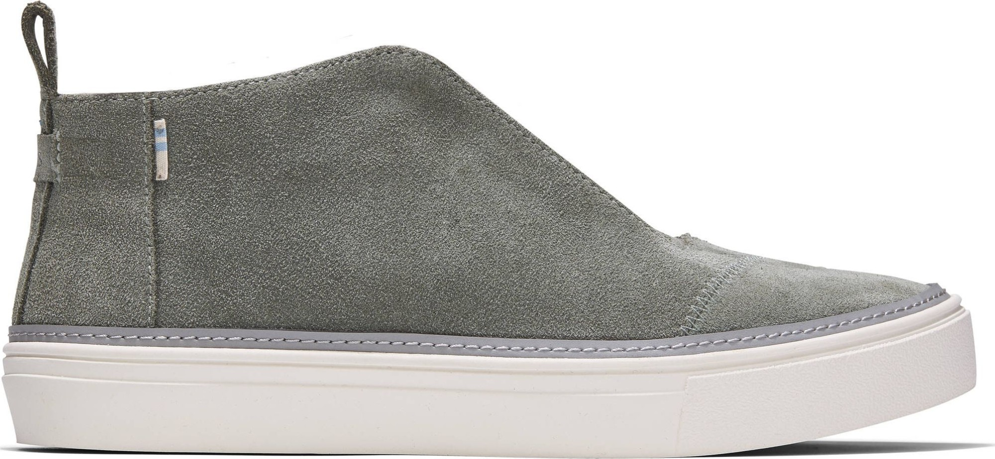 TOMS Suede Women's Riley Sneaker Dusky Grey 36