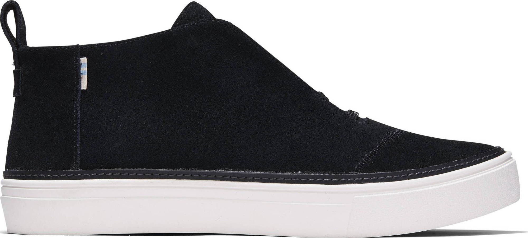 TOMS Suede Women's Riley Sneaker Black 36