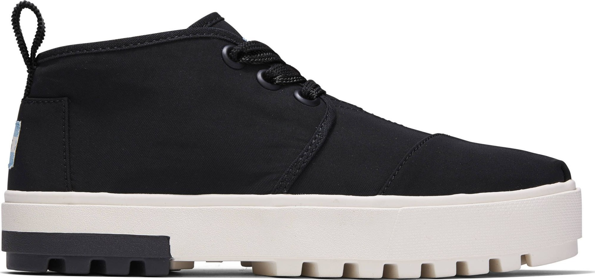 TOMS Utility Twill Women's Botas Lug Sneaker Black 41