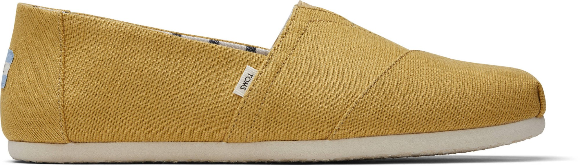 TOMS Heritage Canvas Men's Alpargata Yellow 42