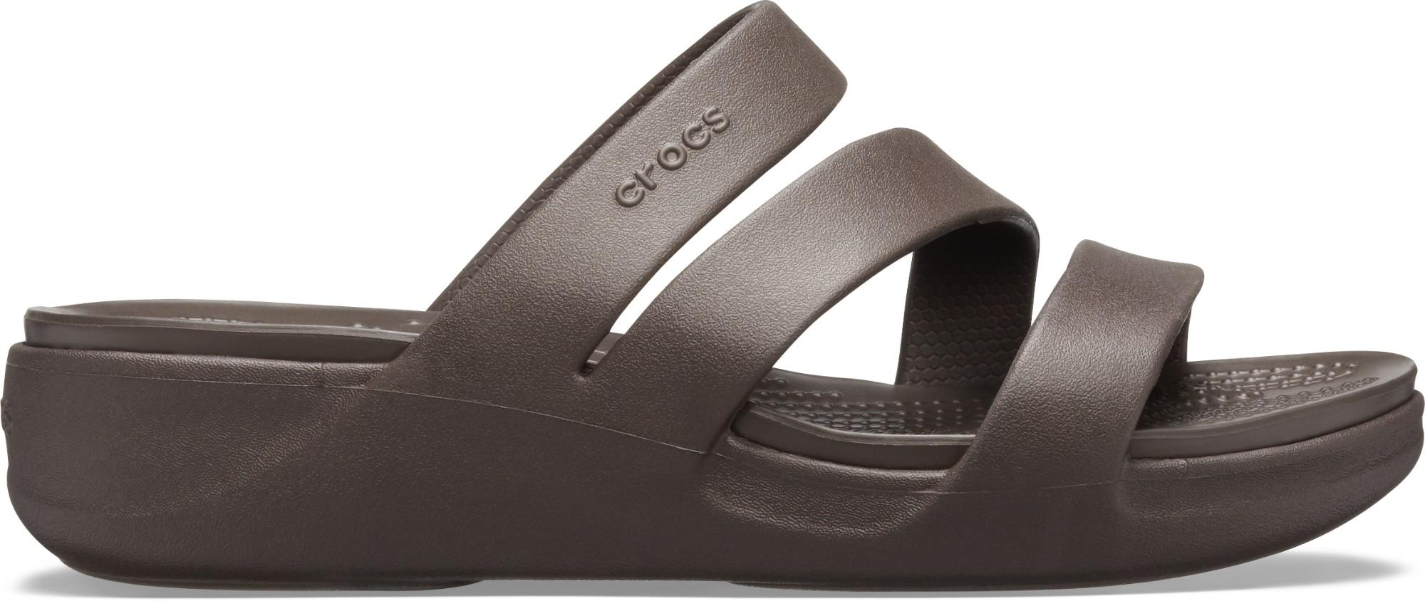 Crocs™ Monterey Wedge Womens Espresso 37,5