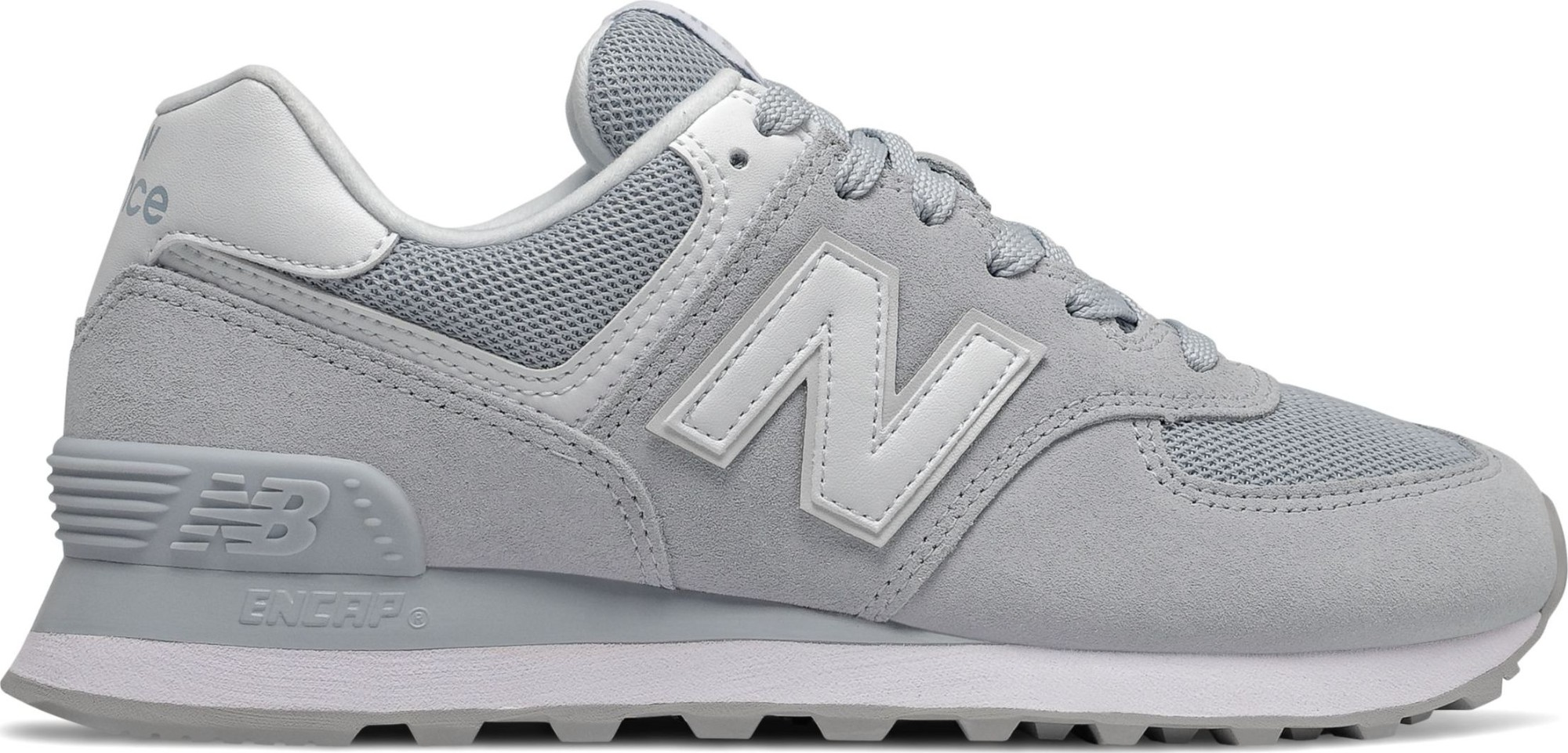 New Balance WL574 Nubuck Grey/White 39
