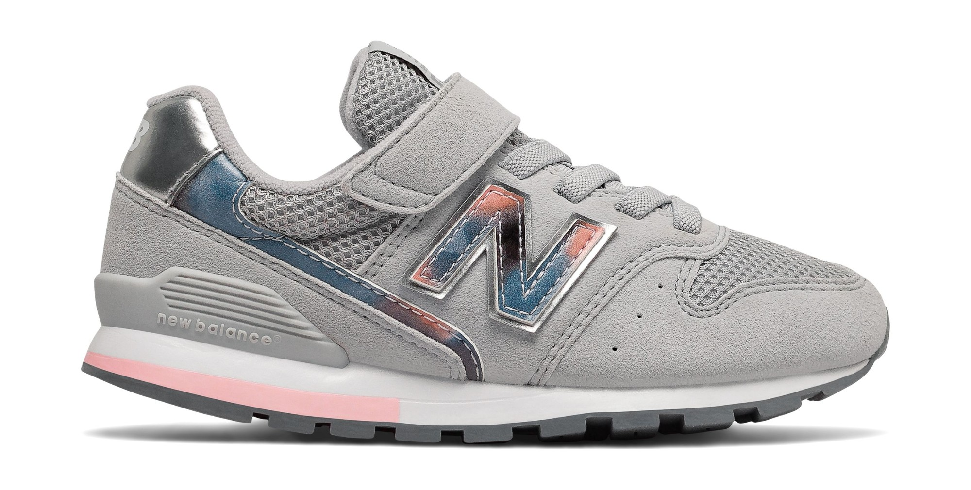 New Balance YV996 Grey/Pink 36