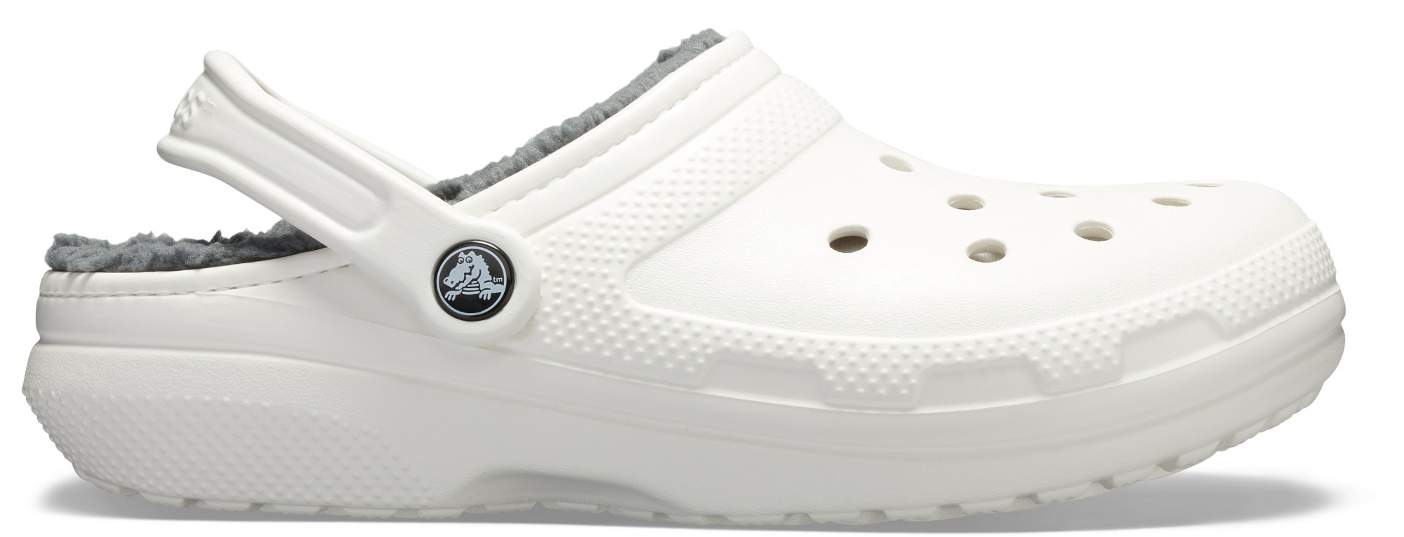 Crocs™ Classic Lined Clog White/Grey 36,5