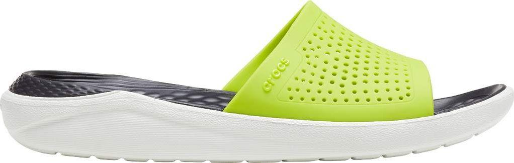 Crocs™ LiteRide Slide Lime Punch/Almost White 45,5