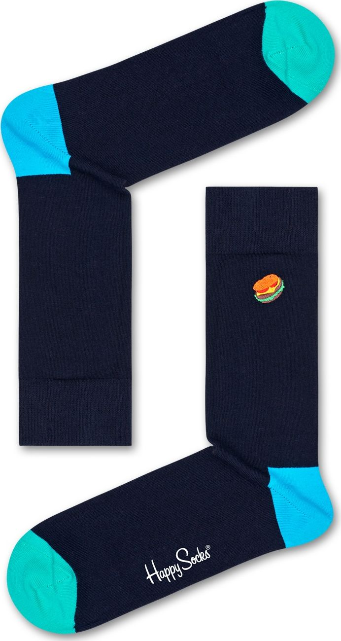 Happy Socks Embroidery Hamburger Multi 6500 36-40
