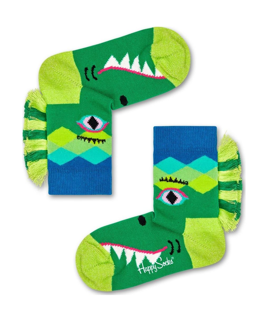 Happy Socks Crazy Crocodile Multi 7300 22-24