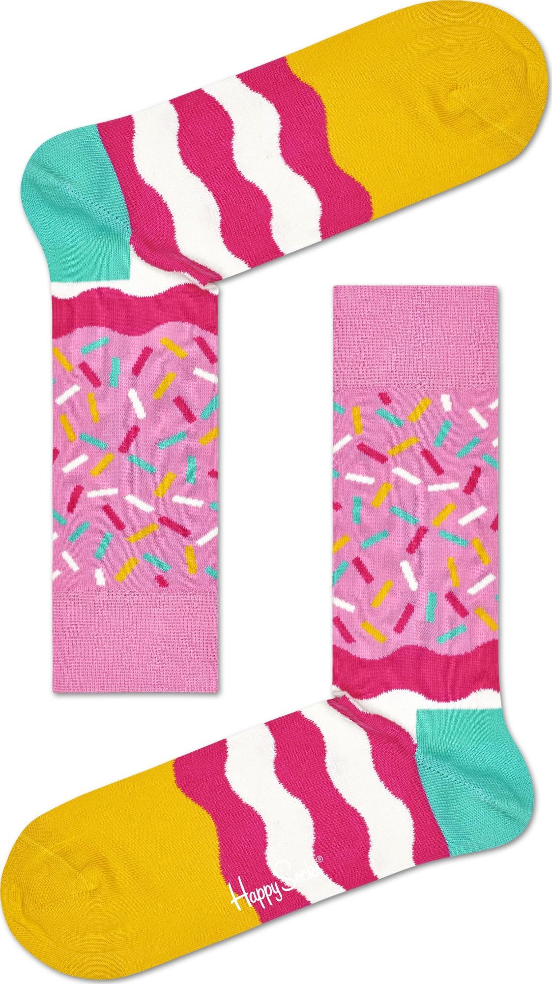 Happy Socks Birthday Sprinkles Multi 3300 41-46