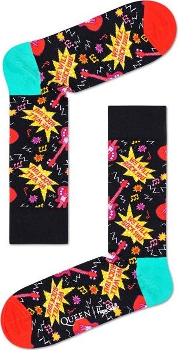 Happy Socks We Will Rock You Sock Multi 9302 41-46