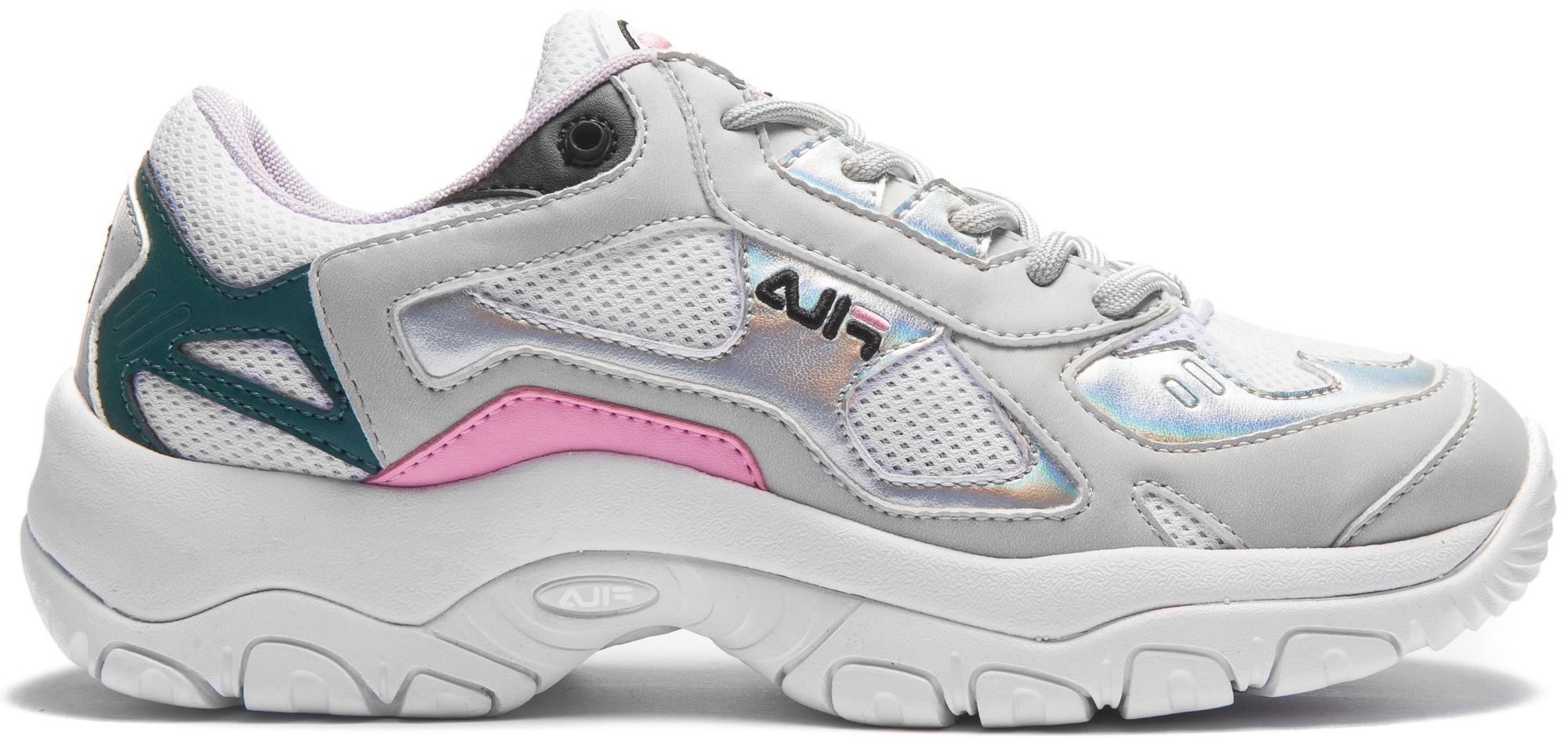 FILA Select Low Women's White/Gray Violet/Silver 39