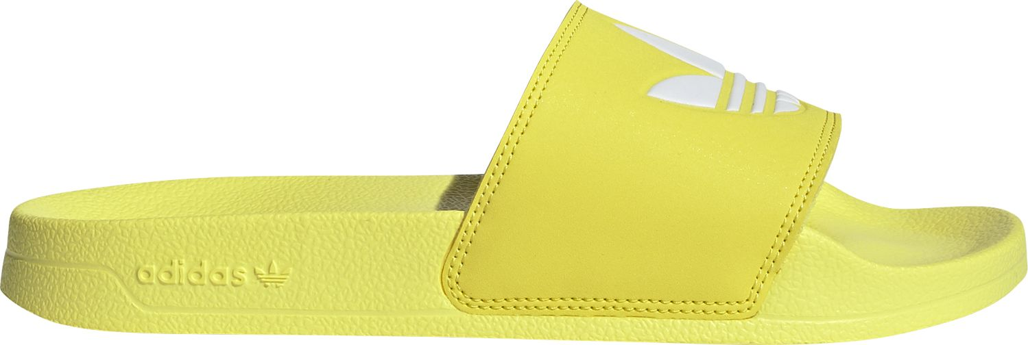 ADIDAS Adilette Lite Women's Shock Yellow/Cloud White/Shock Yellow 36,5