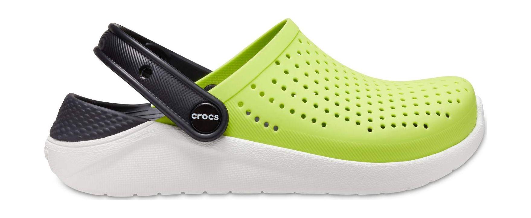 Crocs™ LiteRide Clog Kid's Lime Punch/Black 29